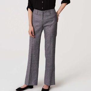 NWT LOFT Original Dress Tweed Trousers